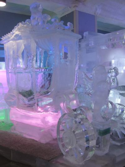 kereta kencana dari es!