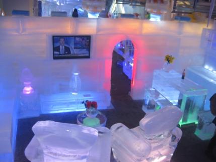 Ruang Keluarga dari es